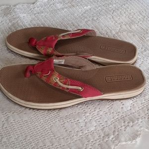 Sperry sandals.